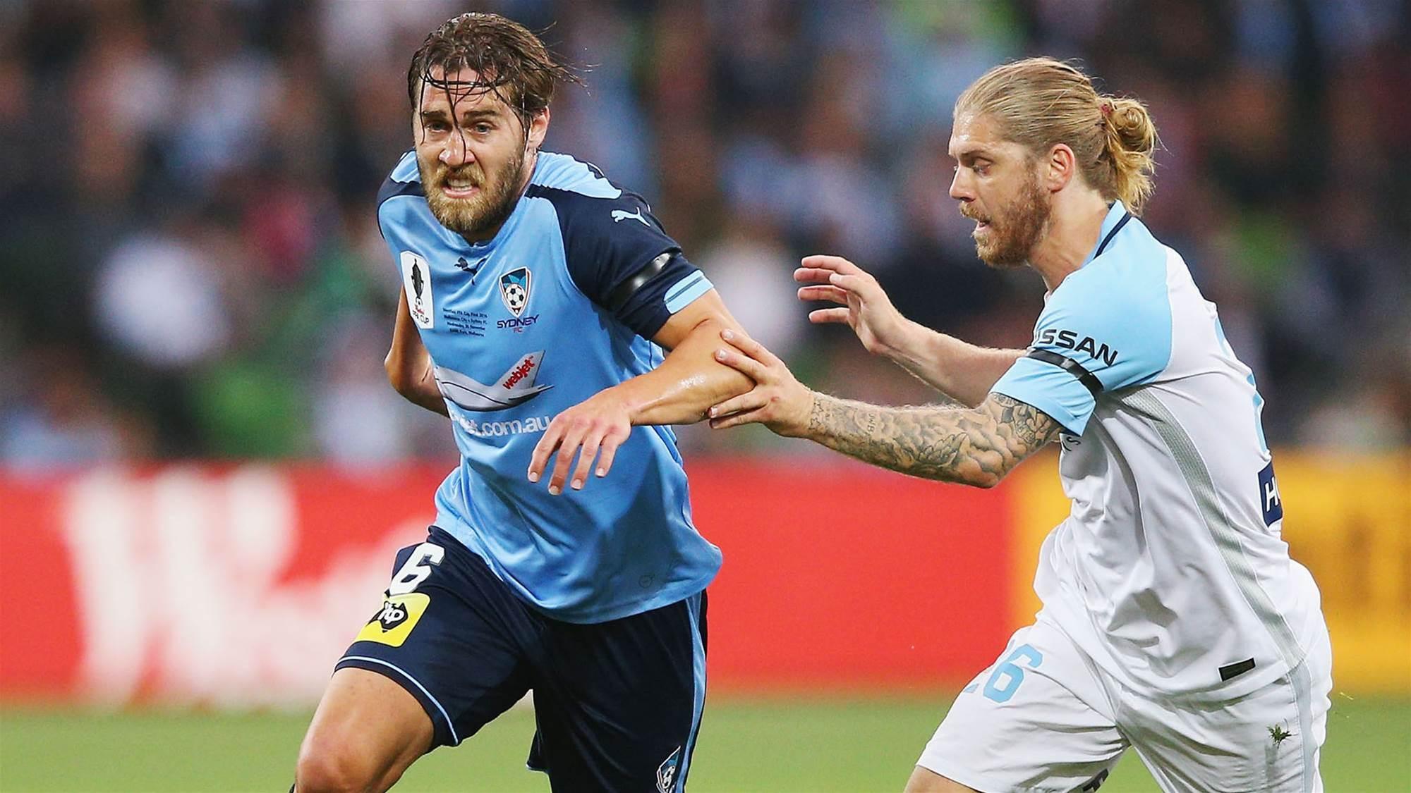 Brillante: Sydney more aggressive than City