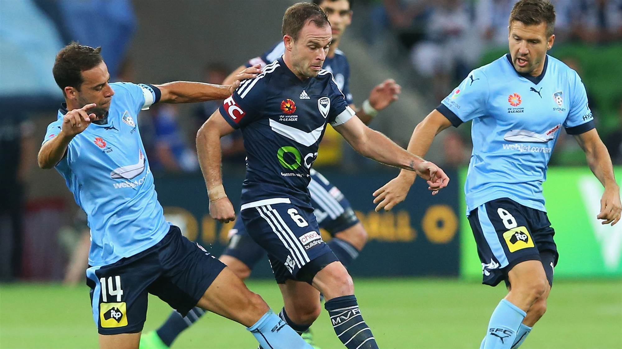 Broxham: We'll talk on the pitch