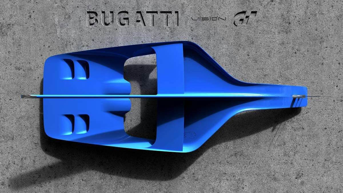 Bugatti Builds a Car for PlayStation's Gran Turismo
