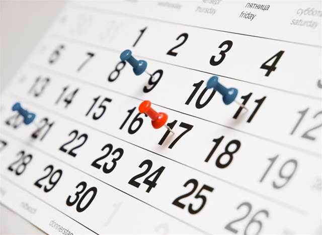 Calendar config triggers Canberra security scare