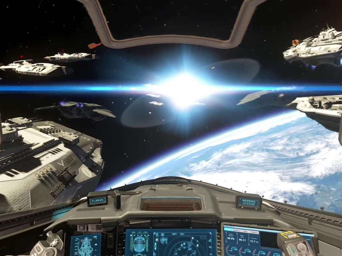 Call of Duty goes full sci-fi with Infinite Warfare's space combat