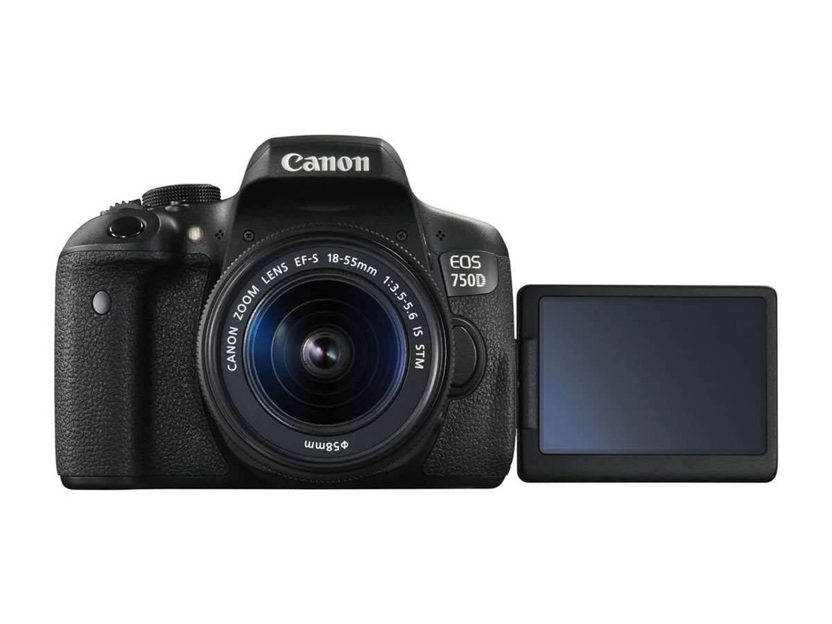 Canon unveils entry-level 750D and 750D DSLRs and EOS M3 compact system cam