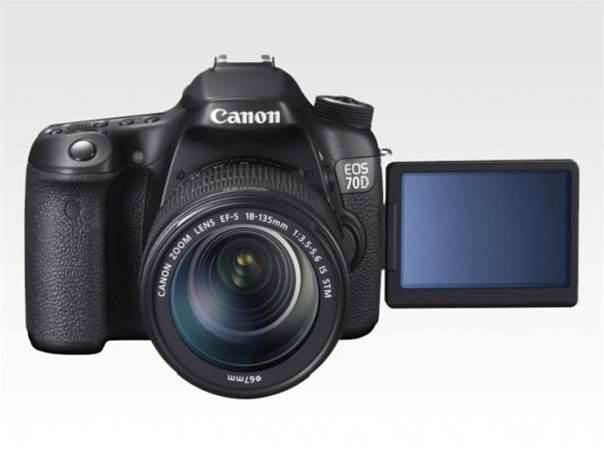 Canon EOS 70D revealed – wave goodbye to blurry videos