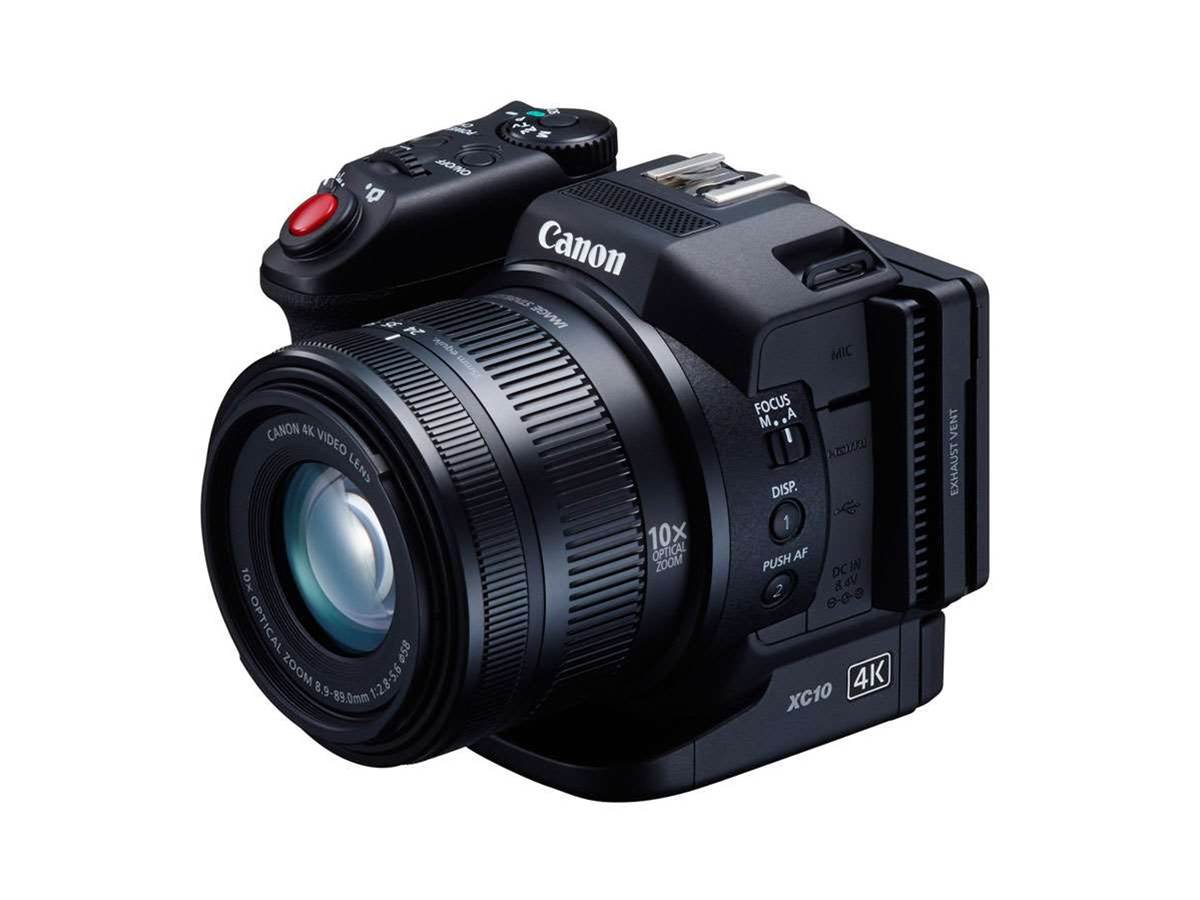 Canon XC10: a new 4K video camera for budding autuers