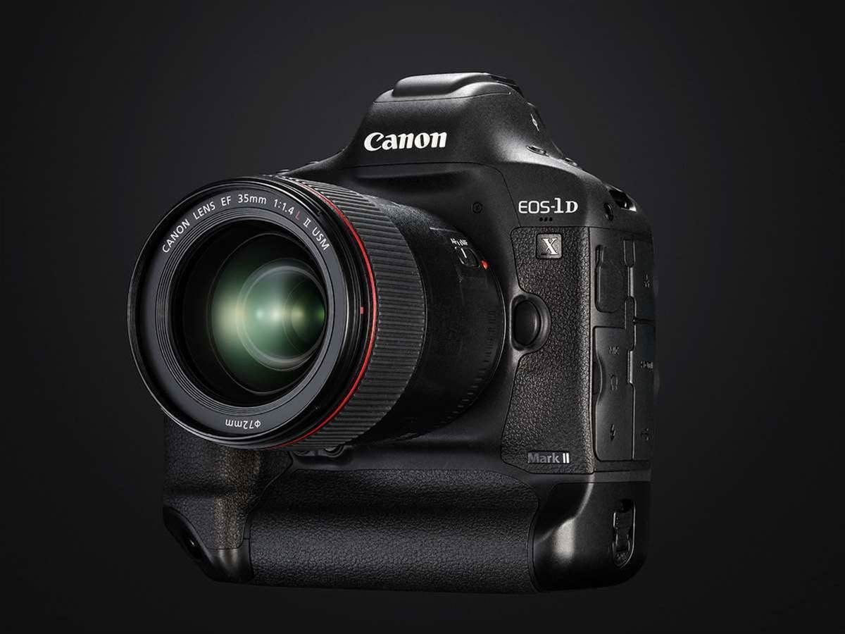 Canon announces 4K capable EOS-1D X Mark II