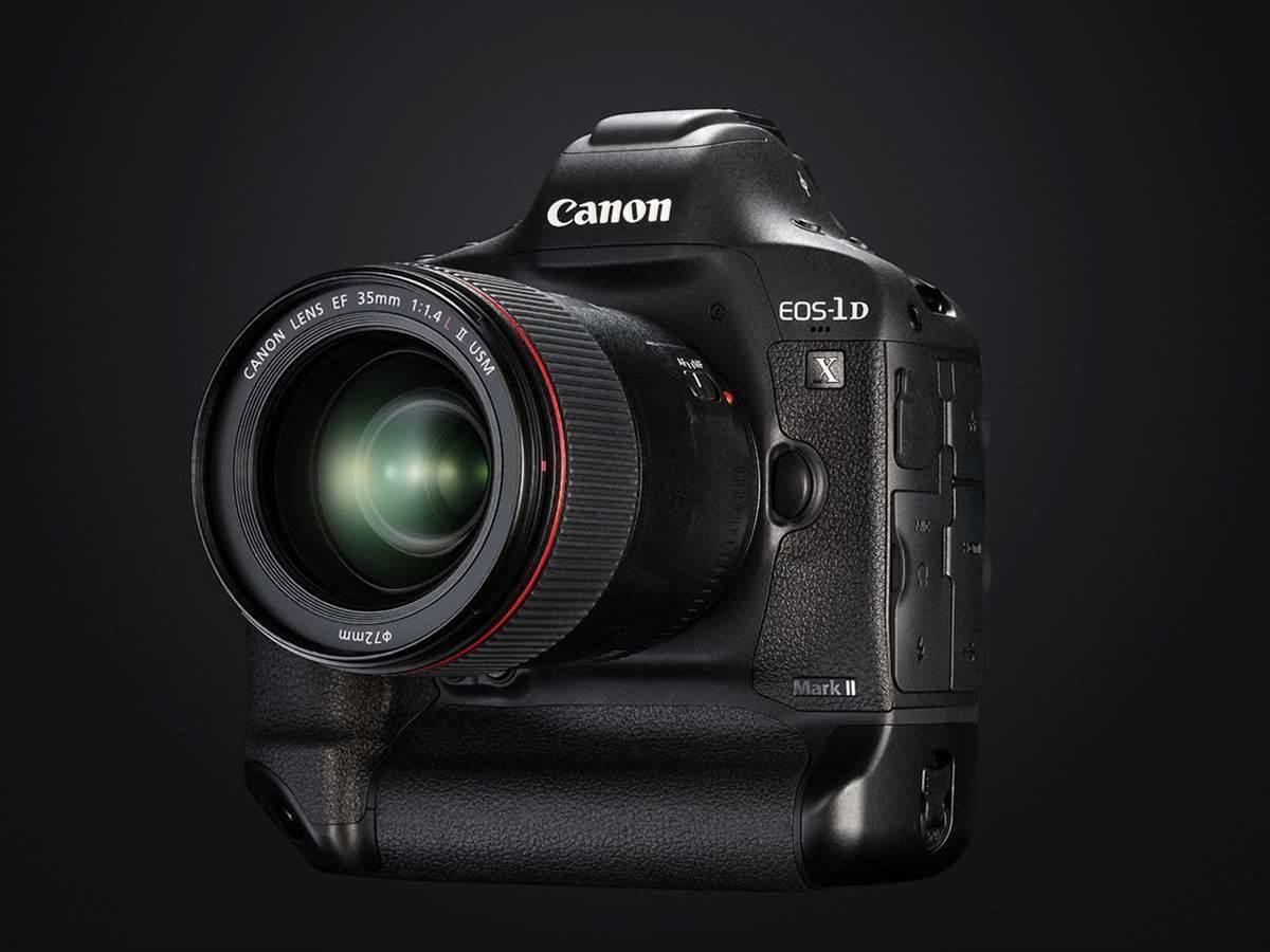 Canon announces 4K capable EOS-1D X Mark II
