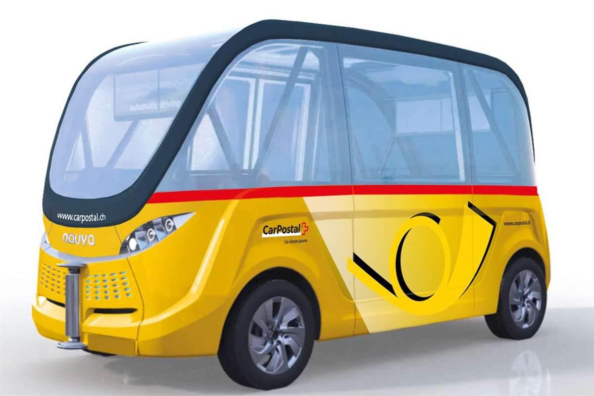 Driverless buses to hit Switzerland's roads