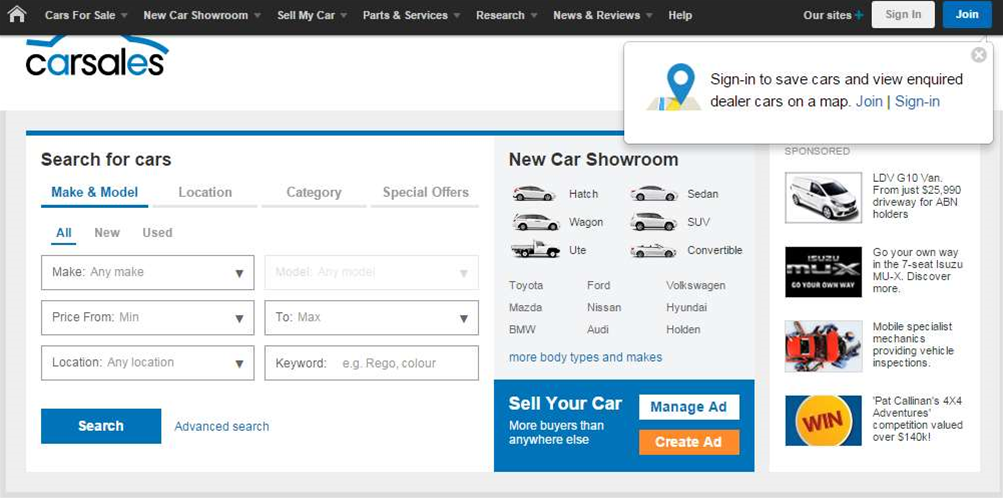Carsales moves website into AWS