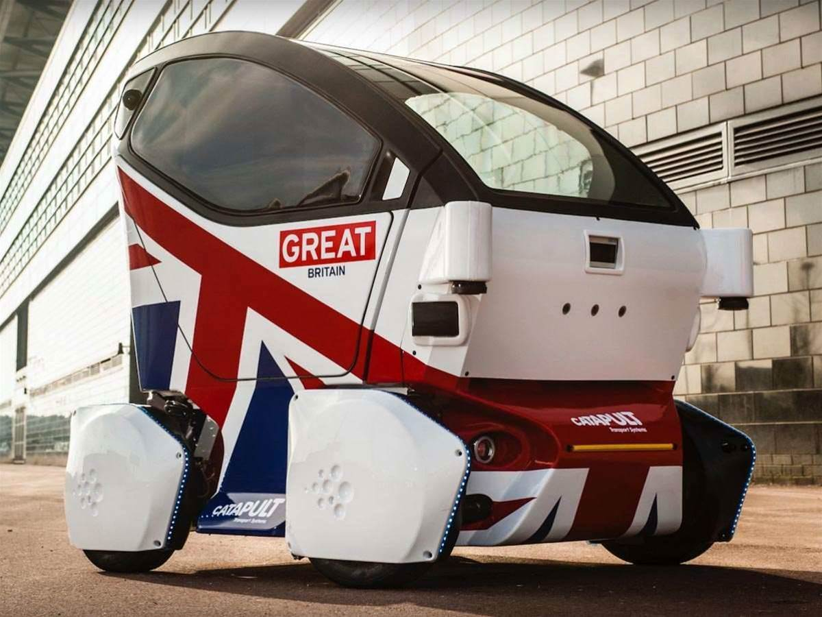 UK approves driverless car testing, starting with pods and shuttles this year