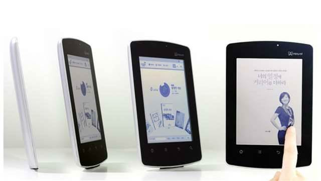 Mirasol colour e-ink arrives on Kyobo tablet