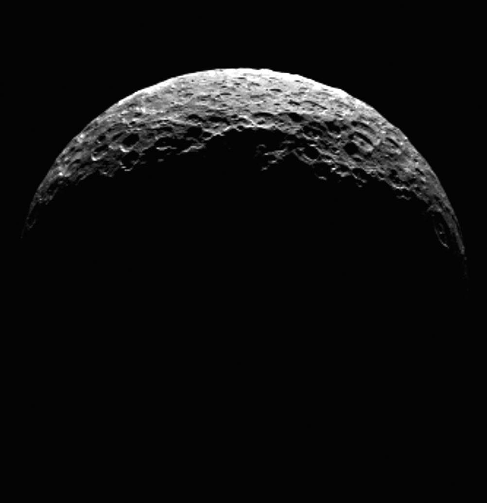 Dawn Catches A Glimpse Of Ceres' North Pole