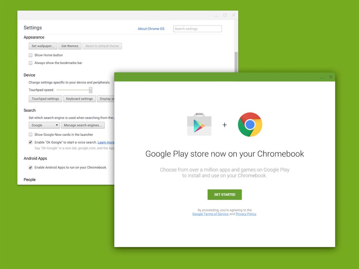 Android apps and the Play Store are coming to Chromebooks