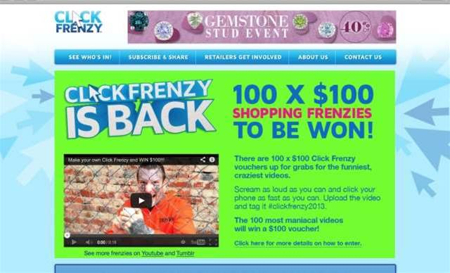 Click Frenzy returns