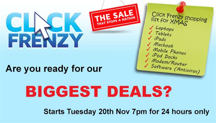 Resellers rock up to Click Frenzy