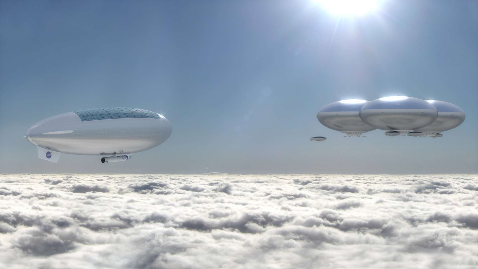 NASA Envisions A Cloud City Above Venus' Hellish Surface