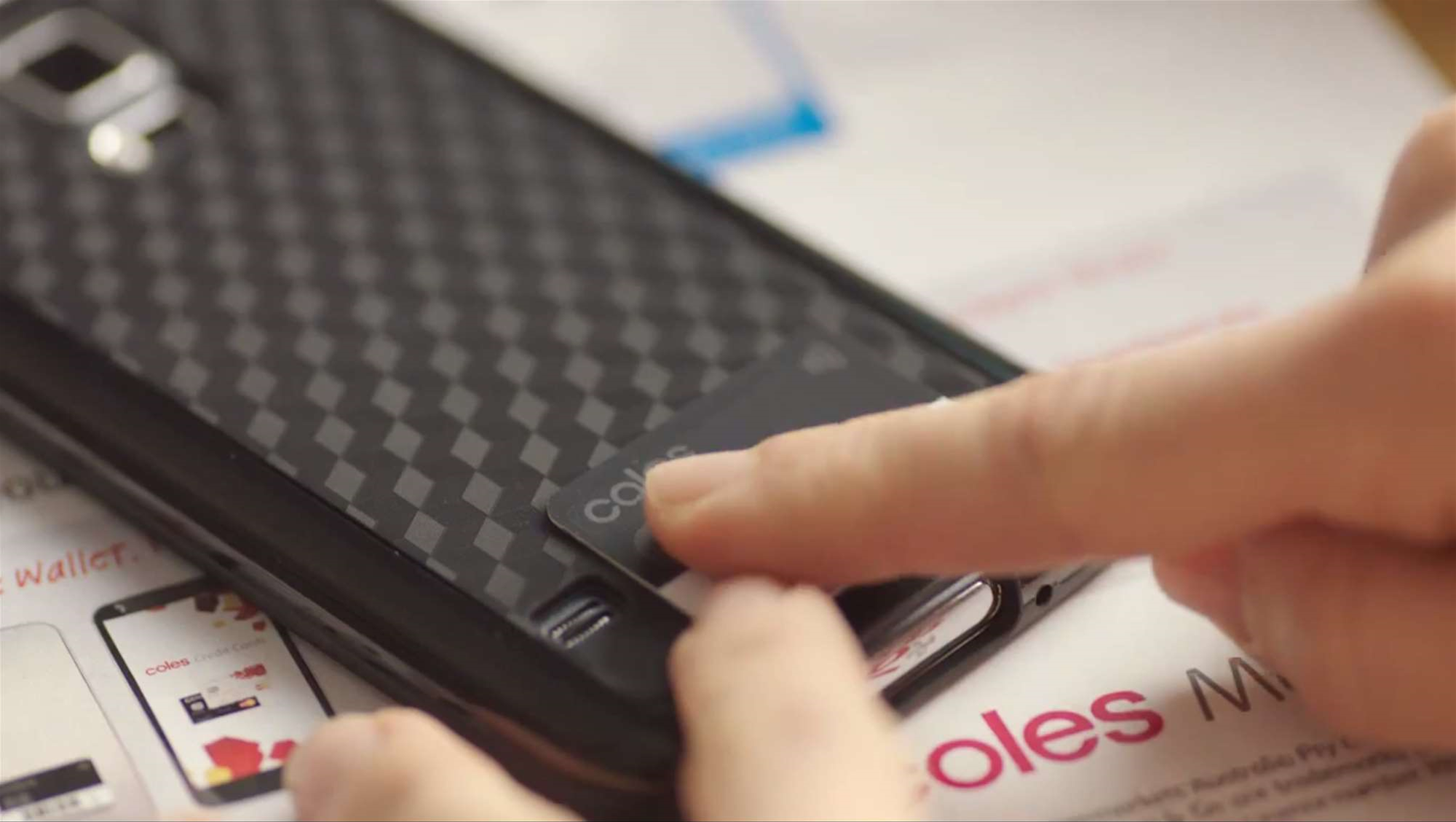 Coles launches a mobile wallet