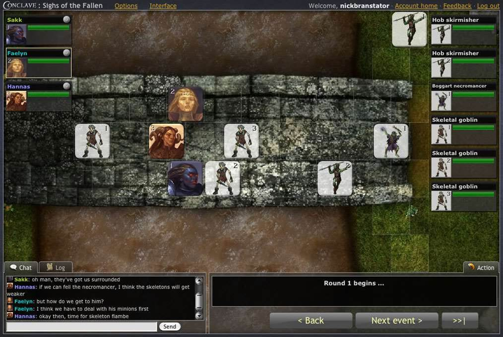 Conclave brings classic dungeon-bashing to your browser