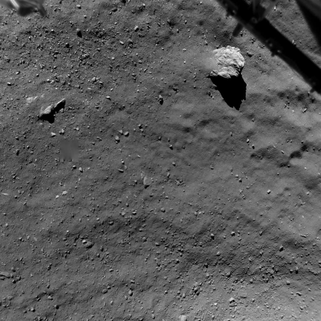 Ride Along With The Philae Lander As It Crashes Into A Comet