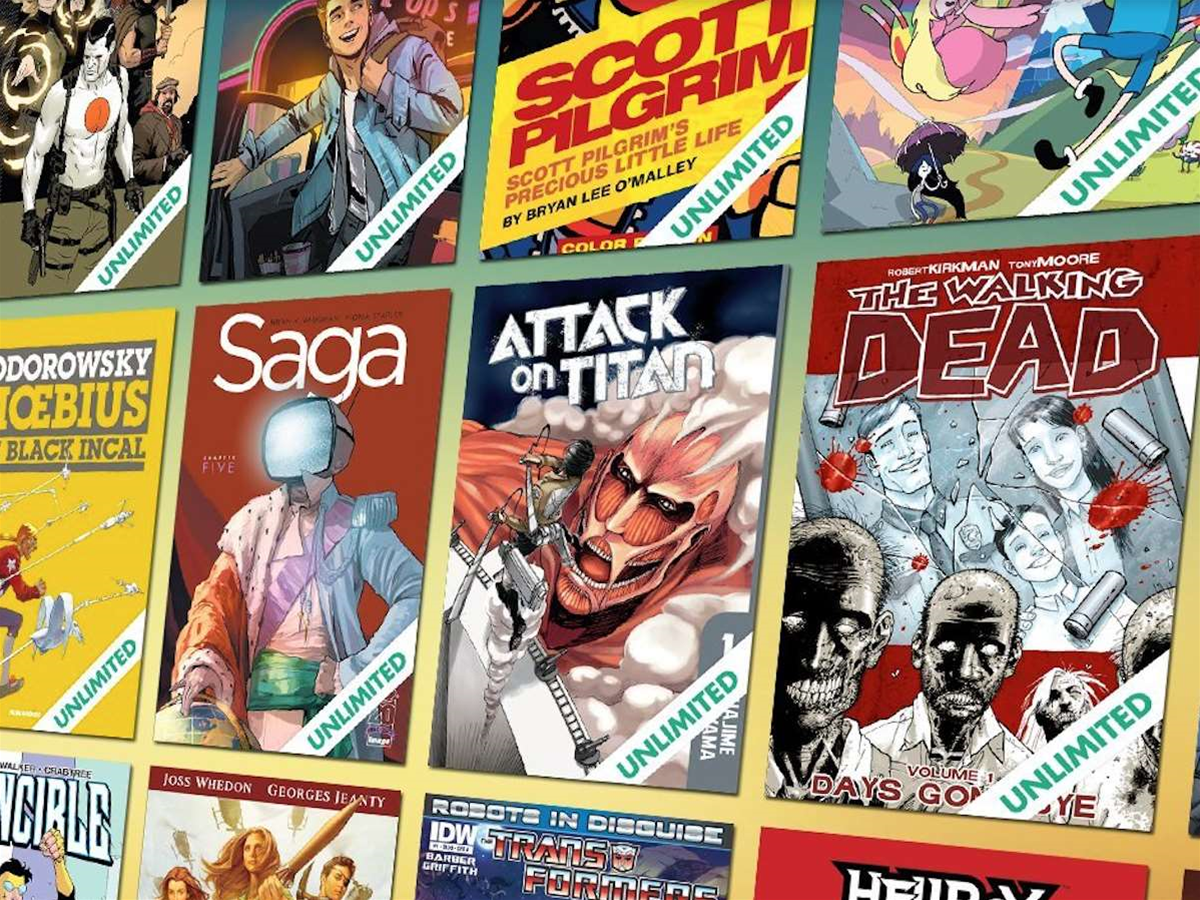 Comixology Unlimited subscription offers all-you-can-read comics