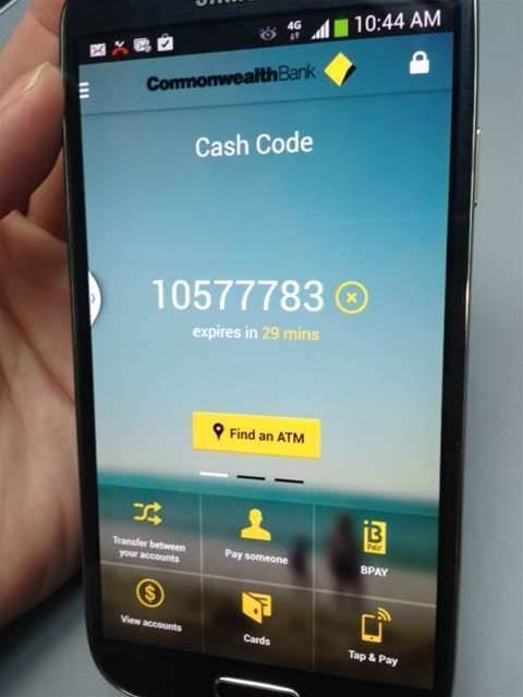 CommBank to offer cardless ATM withdrawals