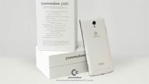 Commodore is back - with an Android smartphone