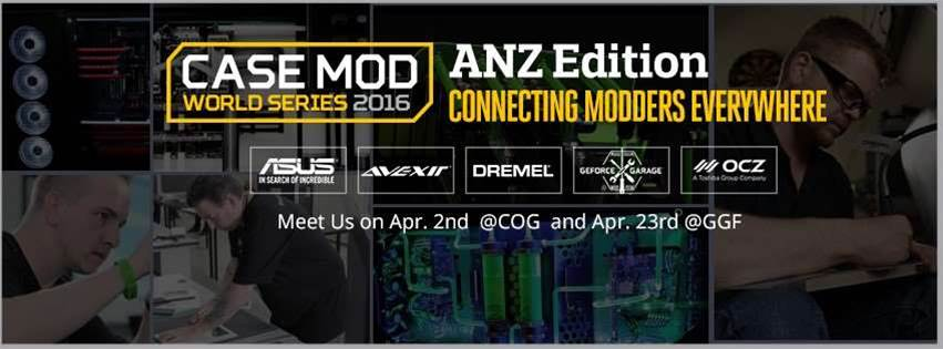Cooler Master Case Mod World Series 2016 announced