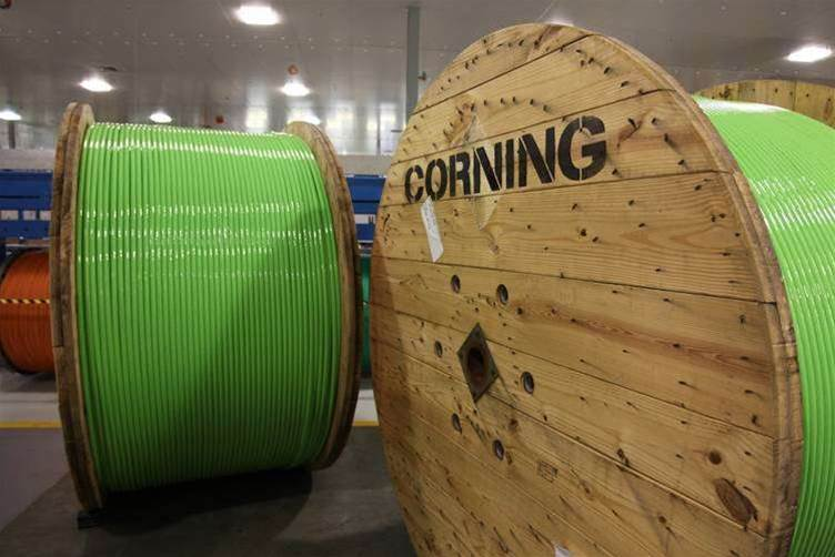 Inside Corning's NBN cable manufacturing plant