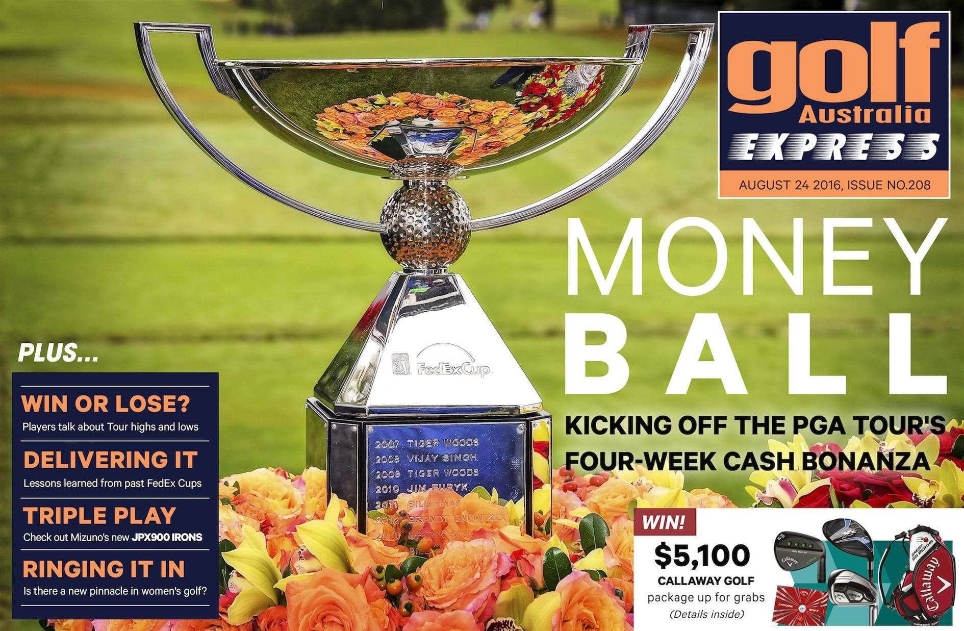 GA Express Issue 208: Money Ball