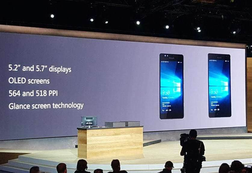 Microsoft Unveils Three New Smartphones At Windows 10 Event