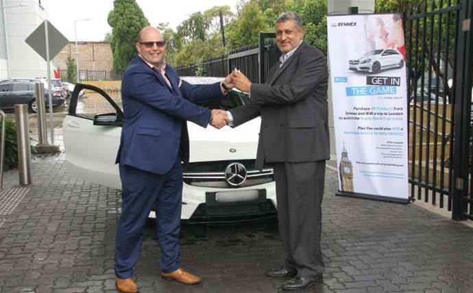 Triforce scores new Mercedes from Synnex