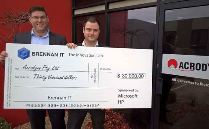 Brennan IT is giving this client $30,000 to spend on tech