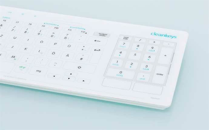 Distributor MMT brings hygienic keyboards to Australian channel