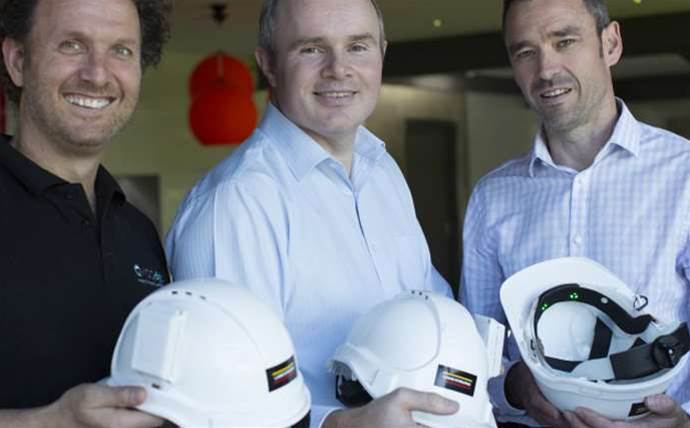 "Australian Microsoft partner helps trial ""smart"" hardhat"
