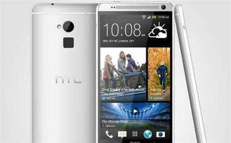 HTC One Max arrives complete with fingerprint scanner