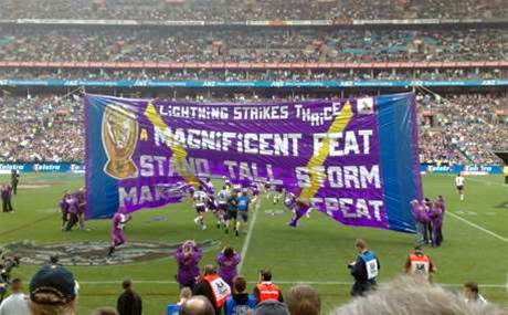 AWS partner brings cloud analytics to Melbourne Storm