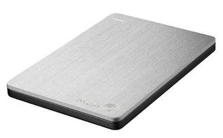 Seagate 500GB slim portable drive