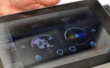 Fujitsu demos tablet with ultrasonic haptic feedback