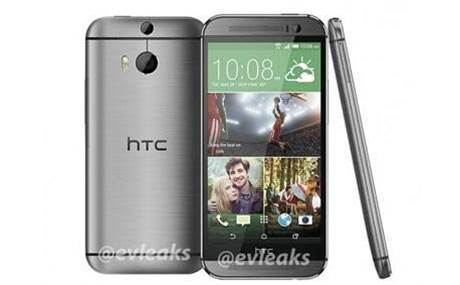 New HTC One appears in silver and black variants