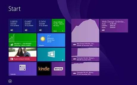 MYOB launches Windows 8.1 companion app