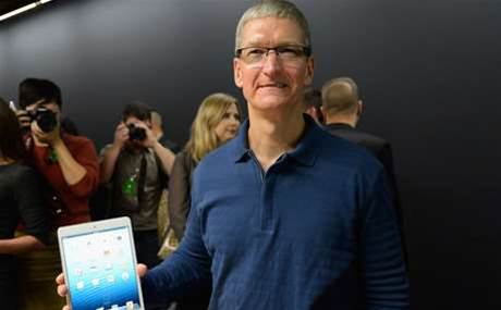 Slumping iPad sales led to Apple-IBM deal, says Cook