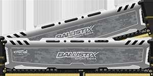 Crucial releases Ballistix Sport LT DDR4 White Modules