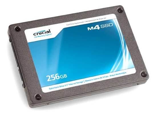 Crucial's M4 SSD 256GB - not the fastest, but well-priced