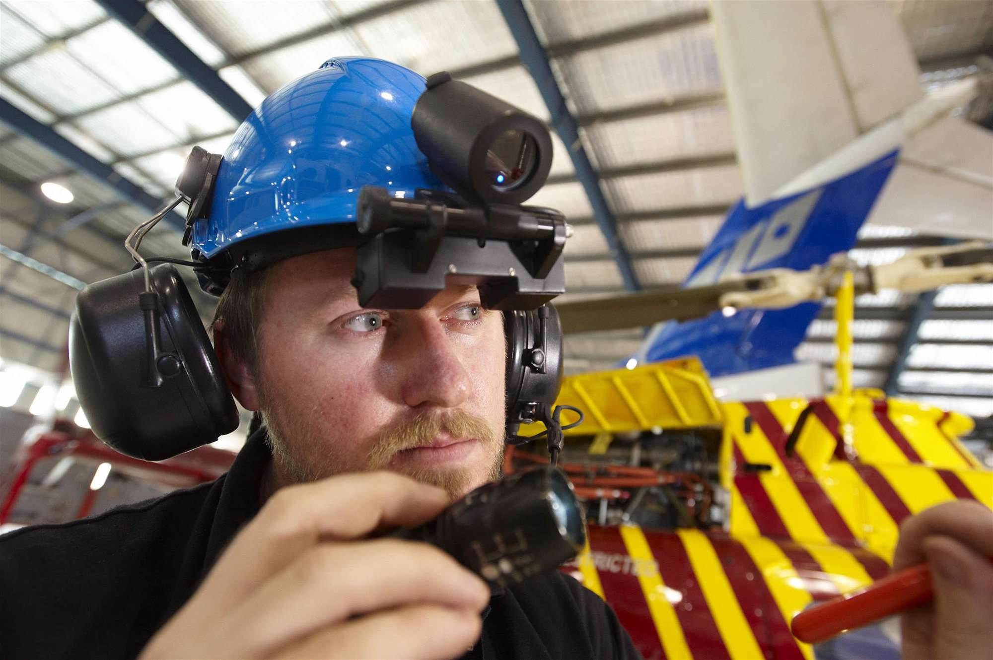 CSIRO to equip aircraft technicians with wearable tech