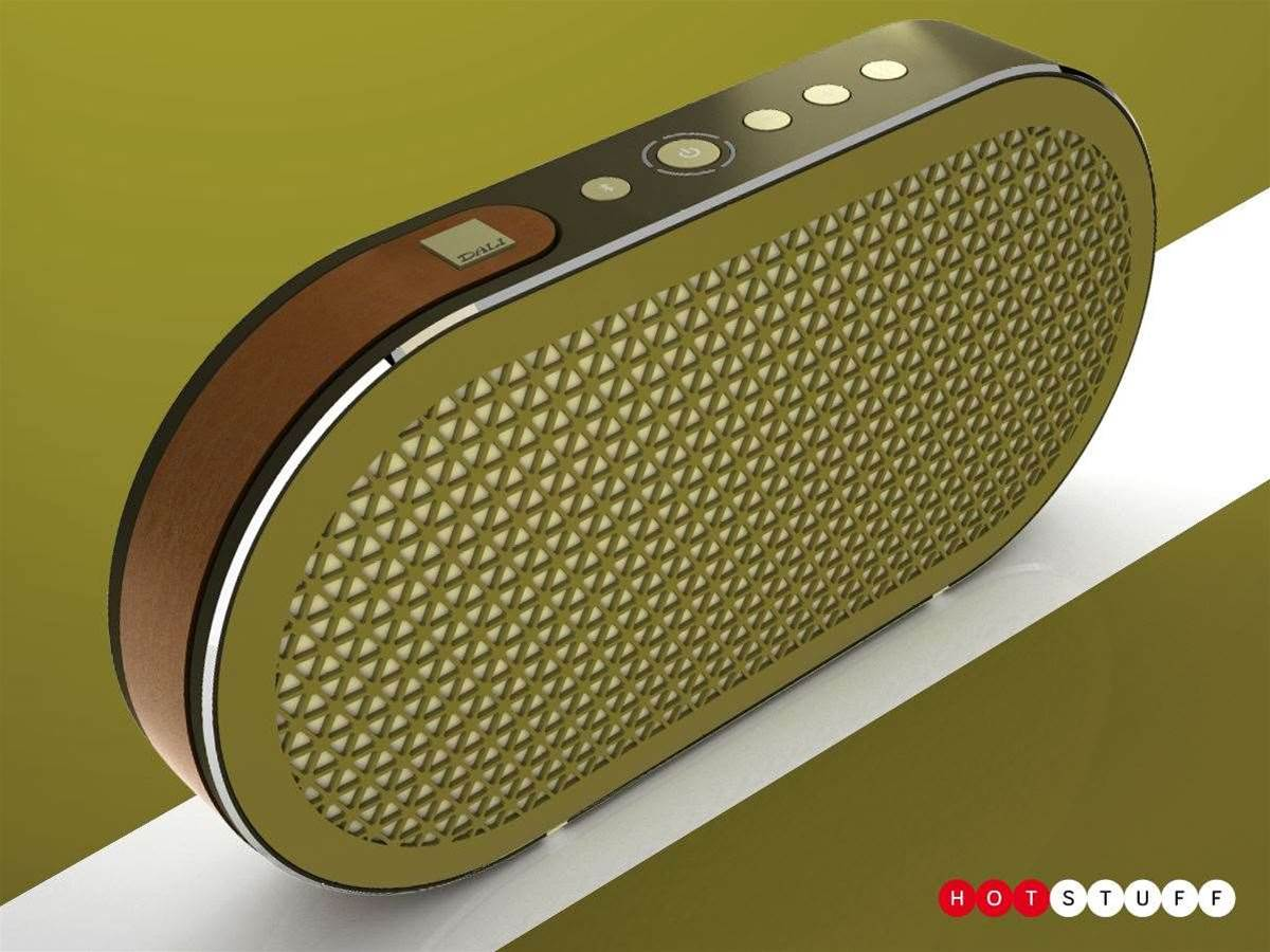 Dali's Katch is a beautiful Bluetooth speaker built for audiophiles