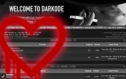 Dark0de crime forum hacked through Heartbleed