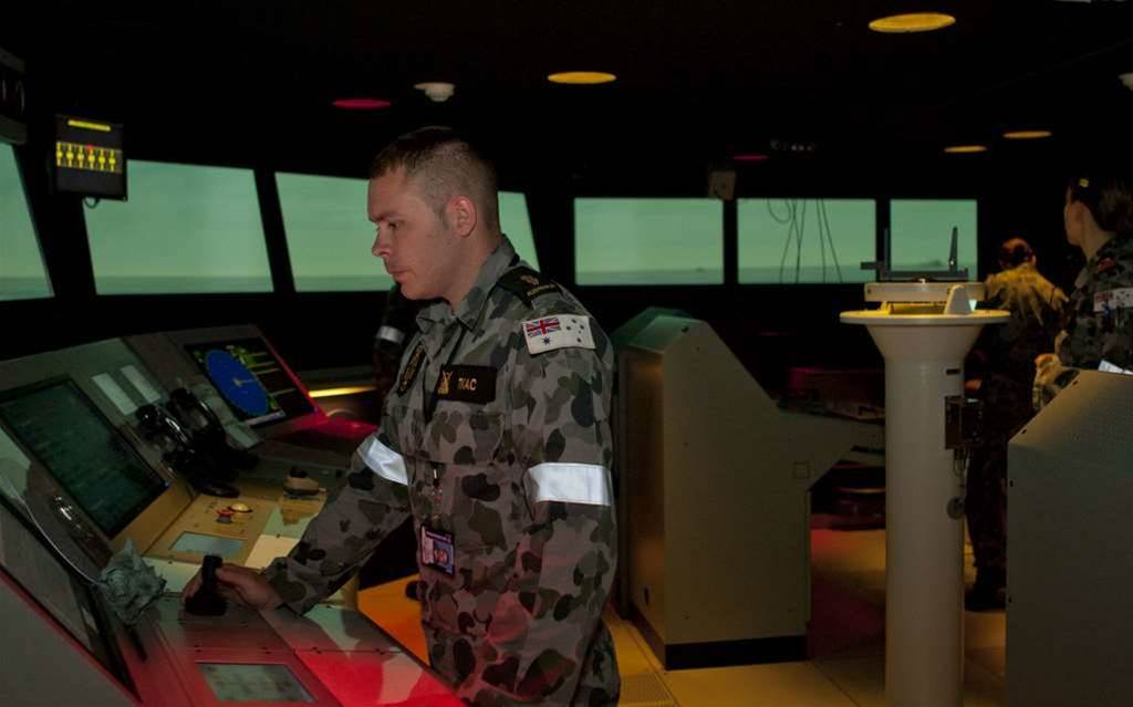 Photos: Australian Navy buys $10m warship simulator