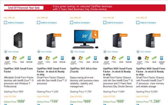 Deal spotted: Dell offering up to 45% off products