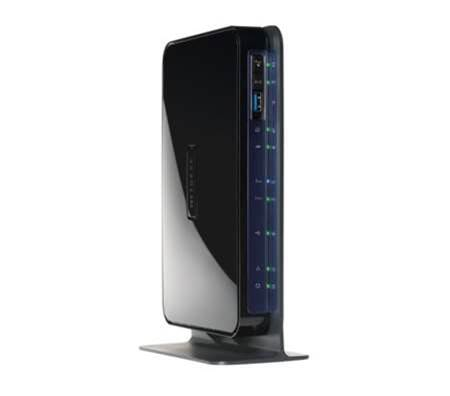 Netgear N600 dual band modem router brings blistering speed to gamers