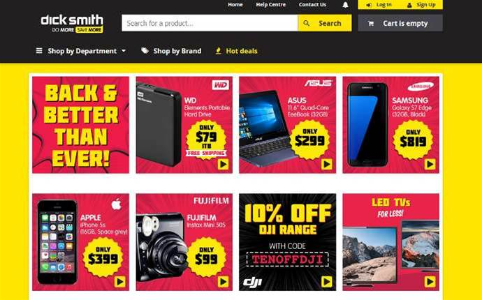 Kogan relaunches Dick Smith brand online