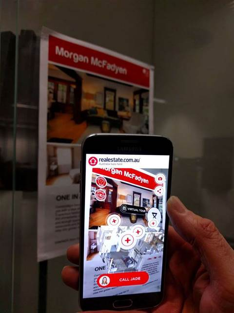 How REA is bringing augmented reality to real estate signage